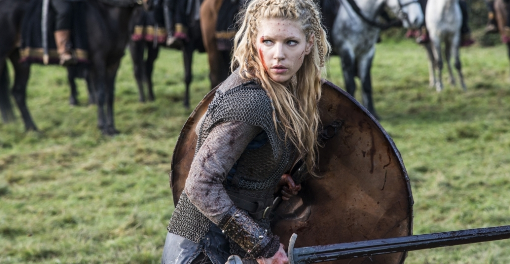 Actress Katheryn Winnick portraying Lagertha on History Channel's Vikings