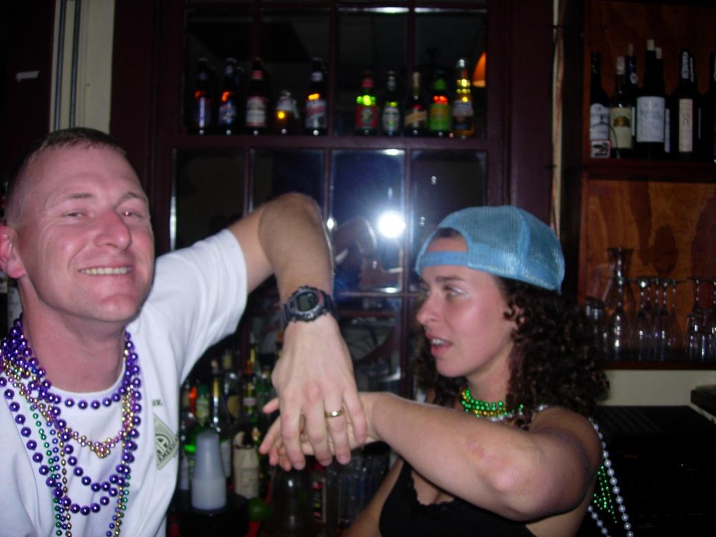 Fun at the bar
